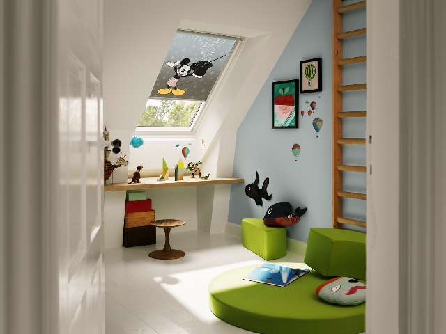 Picture of Newcastle Blinds Mickey Mouse Velux Blind