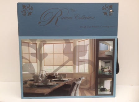 Picture of Newcastle Blinds Riviera Collection Binder