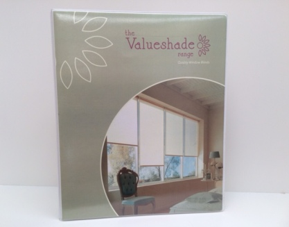 Picture of Newcastle Blinds Valueshade Binder