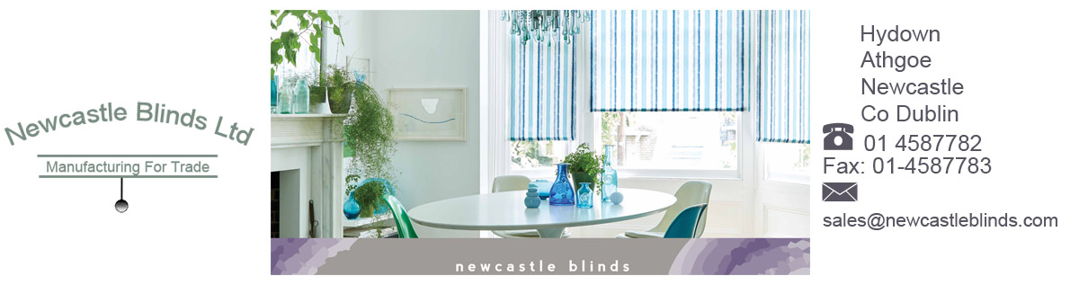 Newcastle Blinds Site Banner